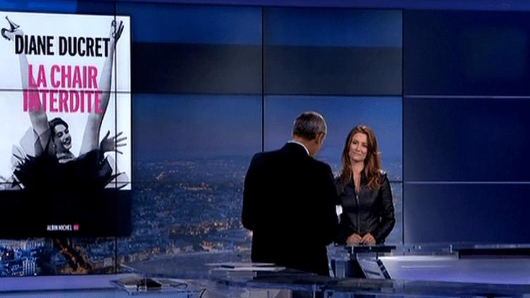 Diane Ducret au Grand Soir 3  (France 3)