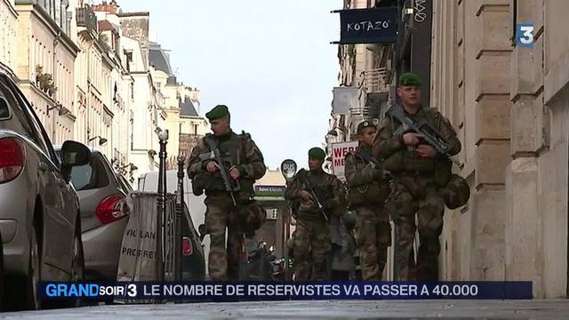Sécurité : de plus en plus de Français veulent rejoindre la réserve des forces militaires