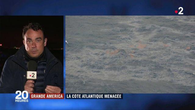 """Naufrage du """"Grande America"""" : les préfecture de Charente-Maritime et de Gironde en """"pré-alerte"""" pollution"""