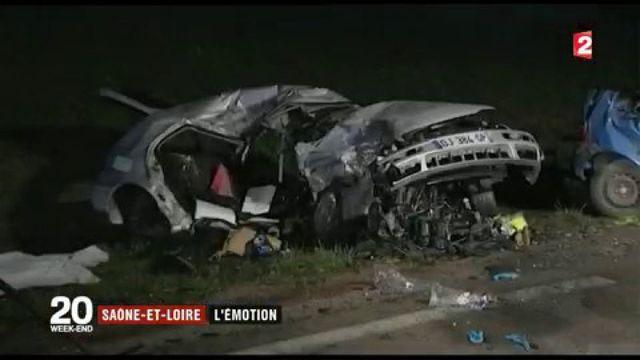 Collision mortelle en Saône-et-Loire : l'heure est à l'émotion et au recueillement