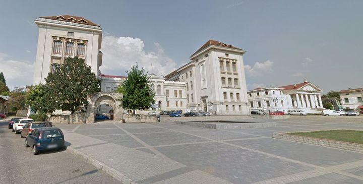 L'université de médecine et pharmacie Grigore T. Popa (Iaşi, Roumanie). (CAPTURE D'ECRAN GOOGLE MAPS)