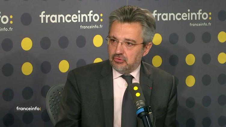 Daniel Keller, le président de l'association des anciens élèves de l'Ena, sur franceinfo le 18 février 2020. (FRANCEINFO / RADIOFRANCE)