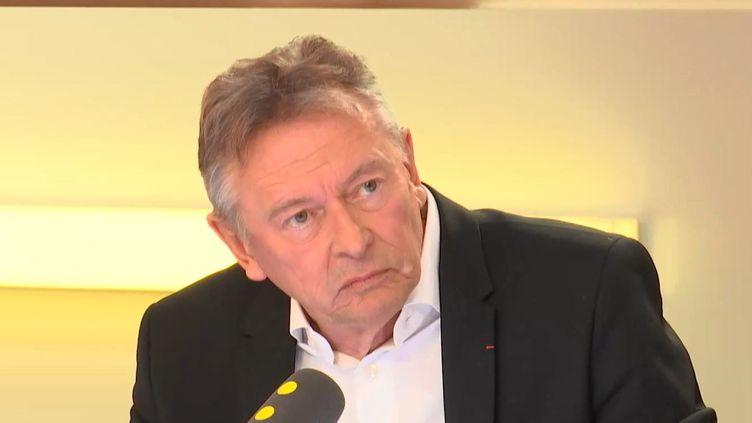 Le président de l'association nationale des DRH (ANDRH), Jean-Paul Charlez, jeudi sur franceinfo. (RADIO FRANCE)