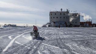 La station de recherche franco-italienne Concordia en Antractique, en 2013. (FRANCOIS LEPAGE / HANS LUCAS)