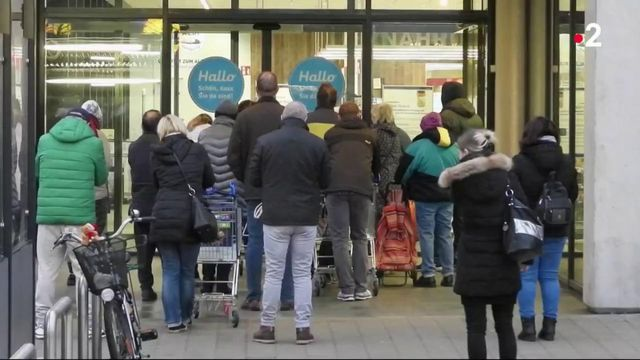 COvid-19 : les supermarchés allemands face à la panique des consommateurs