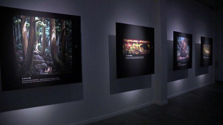 A la Cité de la tapisserie d'Aubusson, une exposition présente le projetautour de l'oeuvre d'Hayao Miyazaki. (France 3 Limousin / Y.Robin)