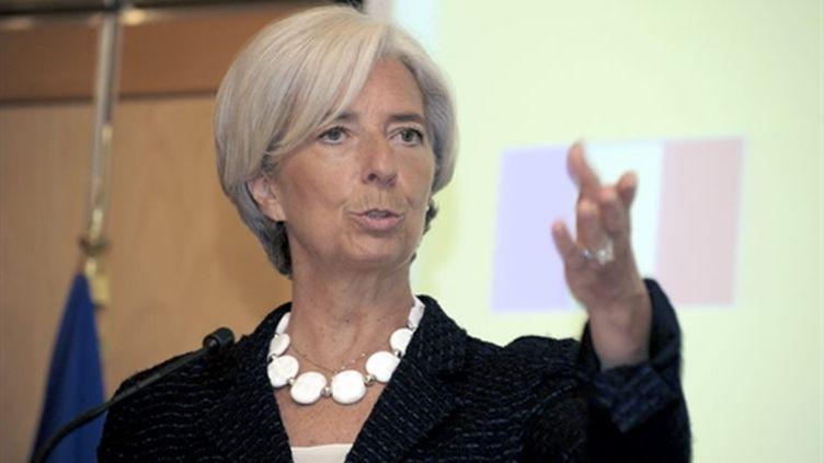 La ministre de l'Economie Christine Lagarde, le 02 juin 2010 à Paris. (AFP - Eric Piermont)