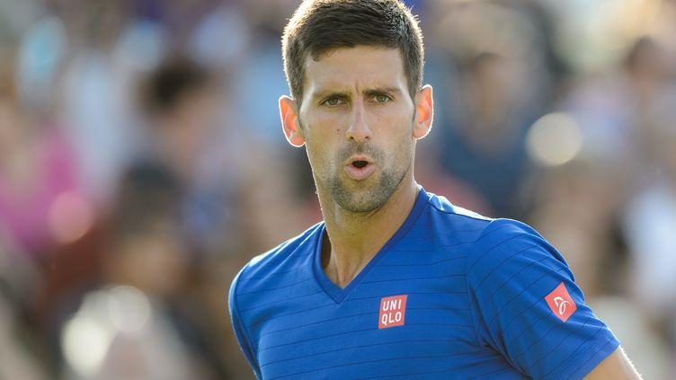 Novak Djokovic est bien lancé à Montréal (MINAS PANAGIOTAKIS / GETTY IMAGES NORTH AMERICA)