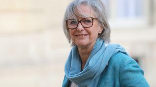 Sophie Cluzel, secrétaire d'État chargée des Personnes handicapées, le 11 février 2020 à l'Élysée. (LUDOVIC MARIN / AFP)
