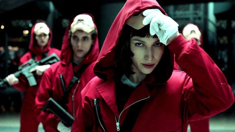 """""""La Casa de Papel"""", la série espagnole qui a fait (re)découvrir la chanson """"Bella Ciao""""  (Netflix)"""