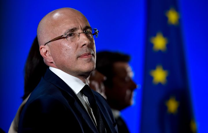 Eric Ciotti, le 17 avril 2017 à Nice (Alpes-Maritimes). (ERICK GARIN / CITIZENSIDE / AFP)