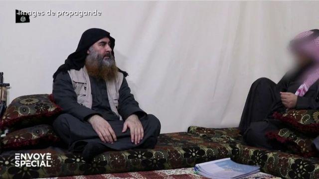 Envoyé spécial. Comment une vidéo de propagande du groupe Etat islamique a aidé à localiser Al-Baghdadi