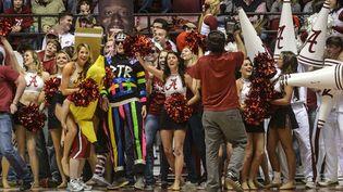 Des fans du Harlem Shakes à un match de Basket en Alabama (16 février 2013)  (Vasha Hunt/Sipa)
