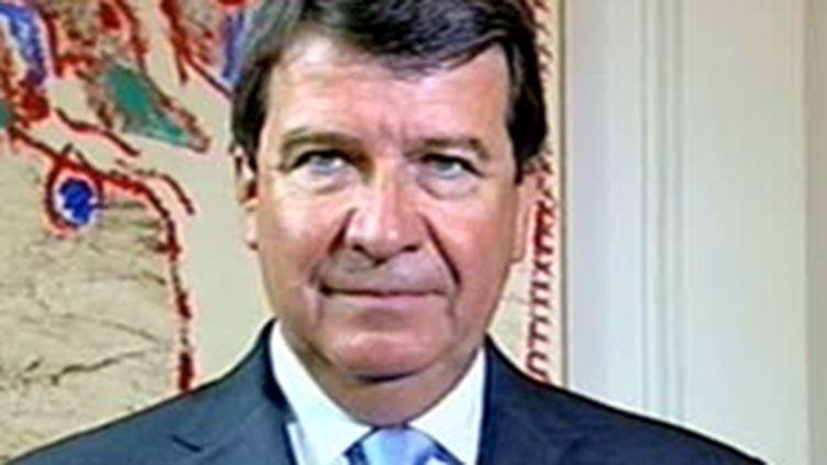 Xavier Darcos, le nouveau ministre du Travail (© France)