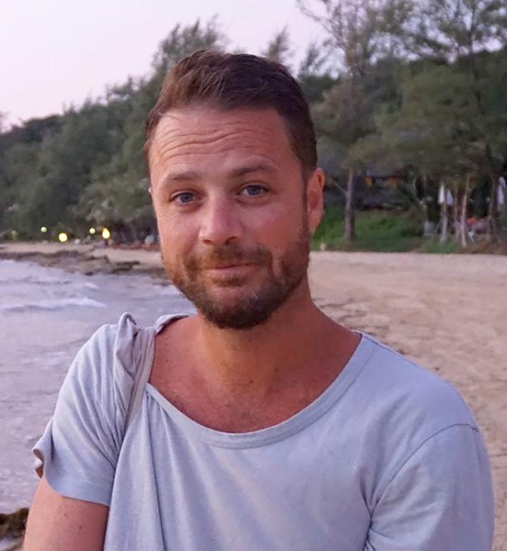 Le Britannique Chris Bevington, 41 ans, fait partie des quatre victimes de l'attentat de Stockholm, le 7 avril 2017. (FOREIGN AND COMMONWEALTH OFFICE / AFP)