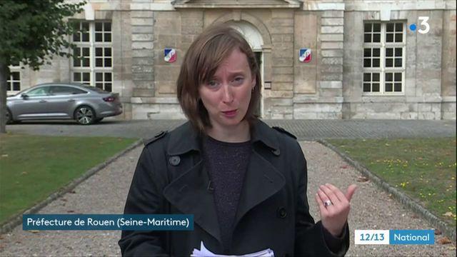 Incendie d'une usine à Rouen : une odeur nauséabonde encore très forte
