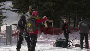Montagne : les saisonniers menacent de faire grève dans les stations de ski pour protester contre la réforme des retraites (FRANCE 3)