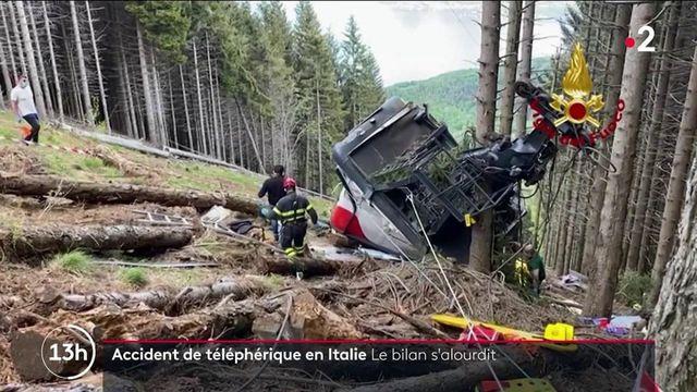 Italie : le village de Stresa sous le choc après la mort de 14 personnes dans la chute d'un téléphérique