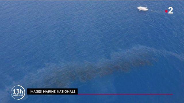 Corse : les côtes menacées par des nappes d'hydrocarbures