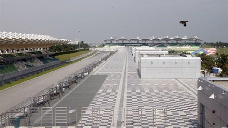 Grand Prix Bahrein circuit illustration