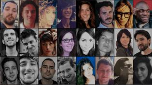 Un visage et un nom pour les victimes des attentats de Paris. (DR)