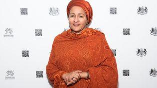 La Vice-Secrétaire générale des Nations unies Amina J. Mohammed, lors d'un déplacement à New York en janvier 2020. (MIKE PONT / GETTY IMAGES NORTH AMERICA)