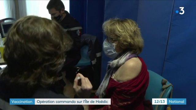 Covid-19 : une opération inédite pour vacciner les habitants de l'île d'Hoëdic