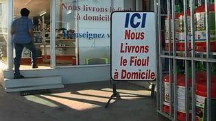 Les consommateurs font les frais de la hausse des prix du fioul. (CAPTURE D'ÉCRAN FRANCE 2)