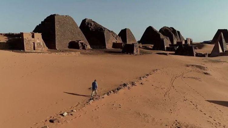 Le 20 Heures de France 2 vous emmène à la découverte du Soudan, l'autre pays des pyramides après l'Égypte. (CAPTURE ECRAN FRANCE 2)