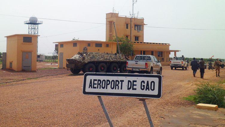 L'aéroport de Gao (Mali), ici photographié en juillet 2012, a été repris le 26 janvier 2013 par les soldats français et maliens. (ROMARIC OLLO HIEN / AFP)