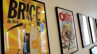 Sur les murs de la maison de production Mandarin  (France 2 / Culturebox capture d'écran)