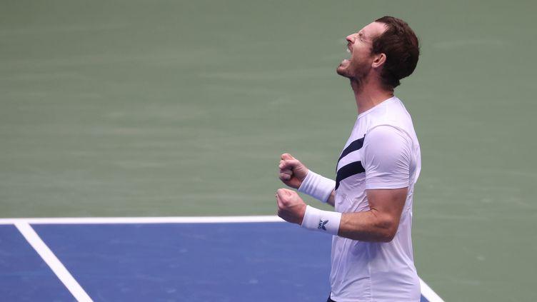 Comme toujours, Andy Murray n'a jamais rien lâché. (AL BELLO / GETTY IMAGES NORTH AMERICA)