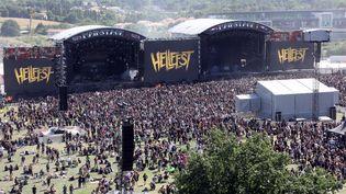 Le festival du Hellfest, à Clisson (Loire-Atlantique) (LUDOVIC MARIN / AFP)