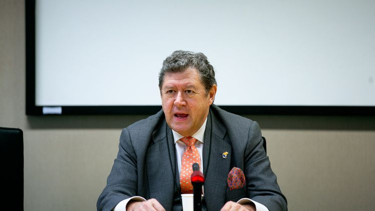 Le député européen espagnol, du groupe Alliance des démocrates et des libéraux pour l'Europe, Enrique Calvet Chambon. (Gabinete eurodiputado Enrique Calvet)