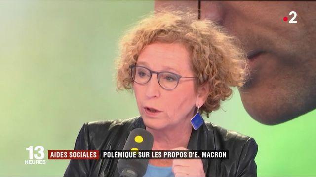 """Aides sociales : """"Un pognon de dingue"""", Emmanuel Macron fait polémique"""