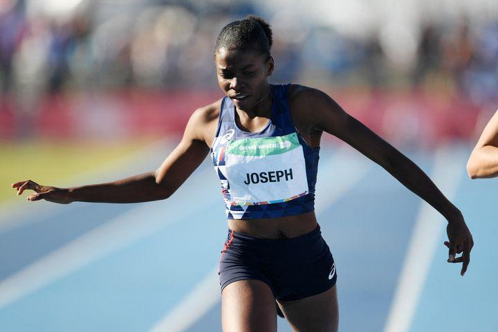 La française Gemina Joseph, ici en Argentine le 11 octobre 2016, ira bien aux Jeux de Tokyo. (PHILIPPE MILLEREAU / DPPI MEDIA / AFP)