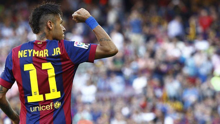 L'attaquant brésilien du FC Barcelone, Neymar