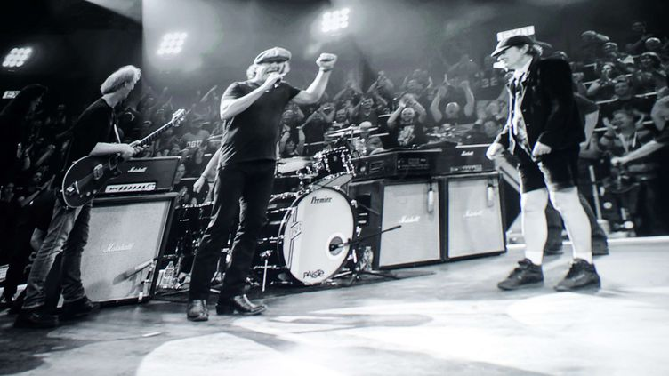 Le groupe AC/DC, en novembre 2014 à New York  (SIPANY/SIPA)