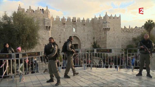 La colère des Palestiniens après l'annonce de Trump