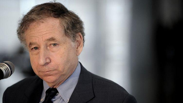 Le président de la fédération internationale d'automobile Jean Todt (PEDRO LADEIRA / AFP)