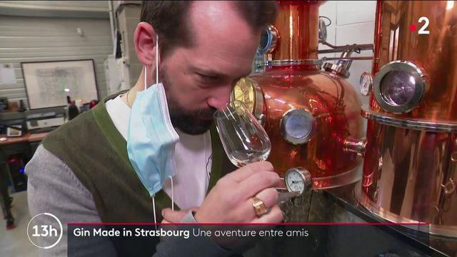 Strasbourg : une distillerie artisanale produit des alcools locaux