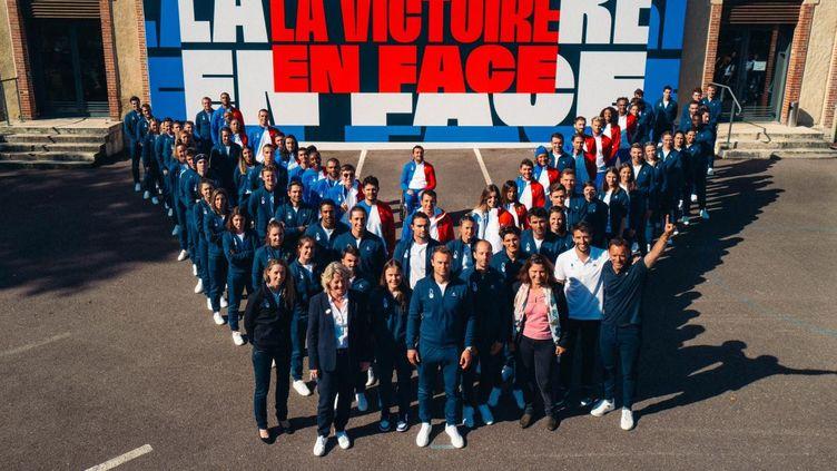 Un nouvel emblème pour l'Equipe de France. (DR / JO 2024)