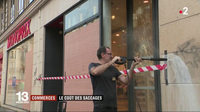 Violences à Paris : les commerçants font le bilan