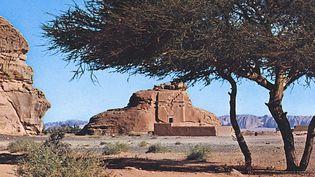 Un tombeau de la cité nabatéenne de Madain Salih en Arabie Saoudite  (Mary Evans / SIPA)