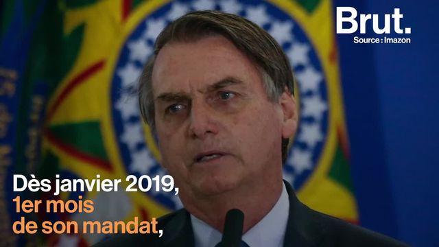 Raoni, figure internationale de la défense de l'Amazonie, a entamé sa neuvième tournée européenne alors que la politique du président brésilien Jair Bolsonaro ravive les inquiétudes.
