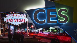 Le CES de Las Vegas (Nevada), le 8 janvier 2017. (DAVID MCNEW / AFP)