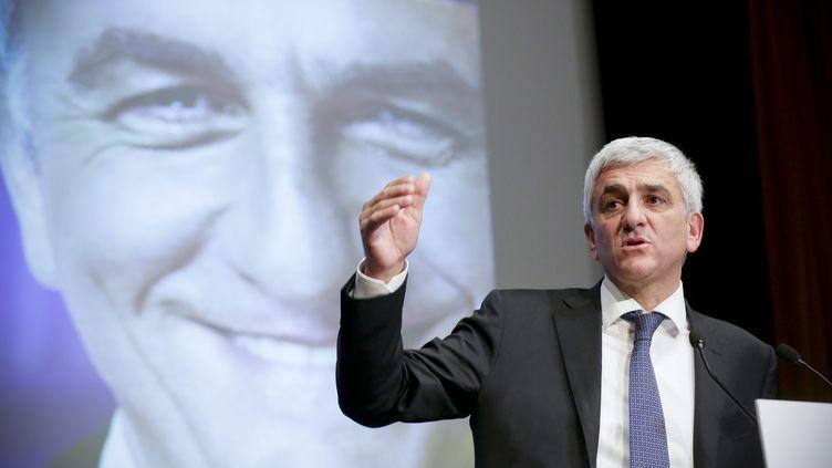 Hervé Morin, le 5 novembre 2014 à Boulogne-Billancourt (Hauts-de-Seine). (  MAXPPP)
