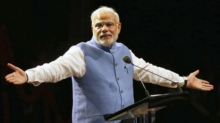 (Le Premier ministre indien Narendra Modi  © REUTERS)