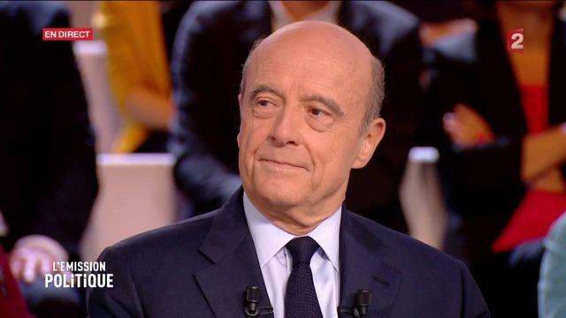 """""""L'Emission politique"""" : Juppé pointe l'""""outrance"""" de Sarkozy : """"Il y a un peu de panique à bord"""""""