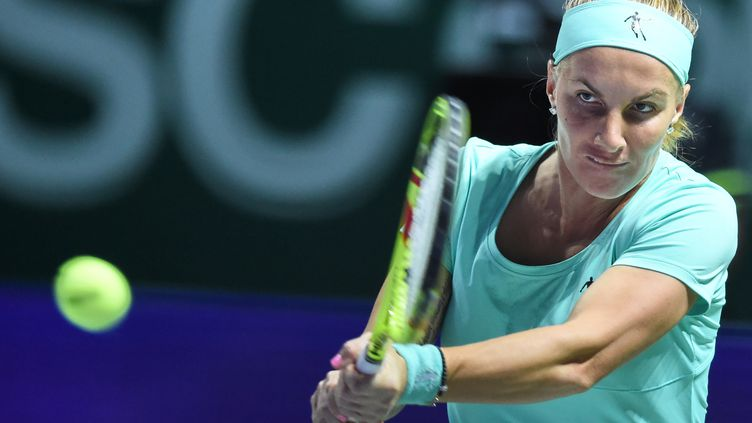 La numéro 9 mondiale Svetlana Kuznetsova (ROSLAN RAHMAN / AFP)